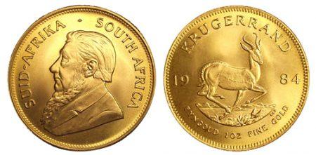 Afrički zlatnik krugerand